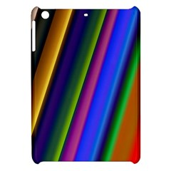 Strip Colorful Pipes Books Color Apple Ipad Mini Hardshell Case