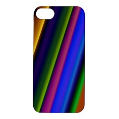Strip Colorful Pipes Books Color Apple Iphone 5s/ Se Hardshell Case