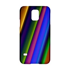 Strip Colorful Pipes Books Color Samsung Galaxy S5 Hardshell Case