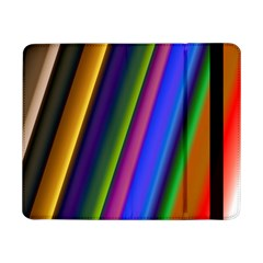 Strip Colorful Pipes Books Color Samsung Galaxy Tab Pro 8 4  Flip Case
