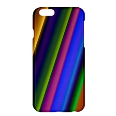 Strip Colorful Pipes Books Color Apple iPhone 6 Plus/6S Plus Hardshell Case