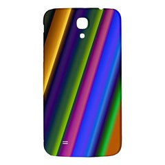 Strip Colorful Pipes Books Color Samsung Galaxy Mega I9200 Hardshell Back Case