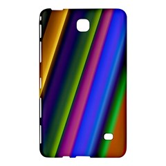 Strip Colorful Pipes Books Color Samsung Galaxy Tab 4 (8 ) Hardshell Case