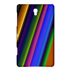 Strip Colorful Pipes Books Color Samsung Galaxy Tab S (8 4 ) Hardshell Case