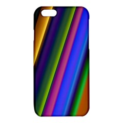 Strip Colorful Pipes Books Color iPhone 6/6S TPU Case
