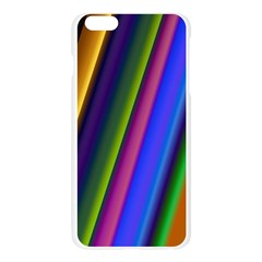 Strip Colorful Pipes Books Color Apple Seamless iPhone 6 Plus/6S Plus Case (Transparent)