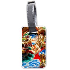 Thailand Bangkok Temple Roof Asia Luggage Tags (One Side)
