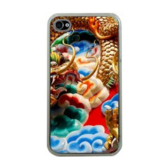 Thailand Bangkok Temple Roof Asia Apple iPhone 4 Case (Clear)