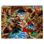 Thailand Bangkok Temple Roof Asia Cosmetic Bag (XXXL)  Front