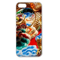 Thailand Bangkok Temple Roof Asia Apple Seamless iPhone 5 Case (Clear)