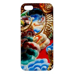 Thailand Bangkok Temple Roof Asia Apple iPhone 5 Premium Hardshell Case