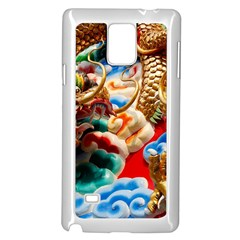 Thailand Bangkok Temple Roof Asia Samsung Galaxy Note 4 Case (white)