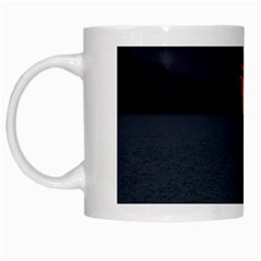 Sunset Ocean Azores Portugal Sol White Mugs