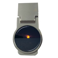 Sunset Ocean Azores Portugal Sol Money Clips (Round)