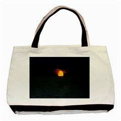 Sunset Ocean Azores Portugal Sol Basic Tote Bag (Two Sides)