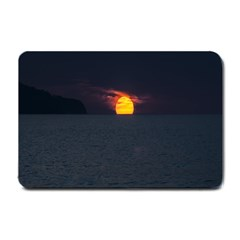 Sunset Ocean Azores Portugal Sol Small Doormat