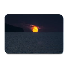 Sunset Ocean Azores Portugal Sol Plate Mats