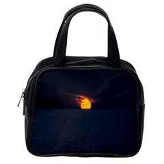 Sunset Ocean Azores Portugal Sol Classic Handbags (One Side)
