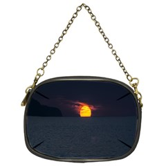 Sunset Ocean Azores Portugal Sol Chain Purses (One Side)