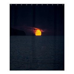 Sunset Ocean Azores Portugal Sol Shower Curtain 60  x 72  (Medium)