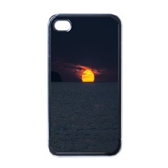 Sunset Ocean Azores Portugal Sol Apple iPhone 4 Case (Black)