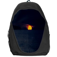 Sunset Ocean Azores Portugal Sol Backpack Bag