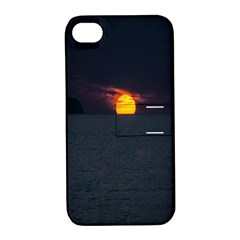 Sunset Ocean Azores Portugal Sol Apple iPhone 4/4S Hardshell Case with Stand