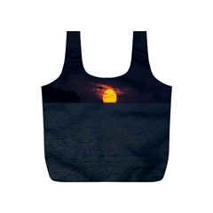 Sunset Ocean Azores Portugal Sol Full Print Recycle Bags (S)