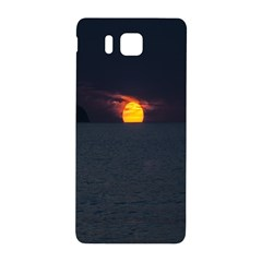 Sunset Ocean Azores Portugal Sol Samsung Galaxy Alpha Hardshell Back Case