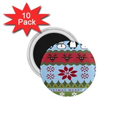 Ugly Christmas Xmas 1.75  Magnets (10 pack)
