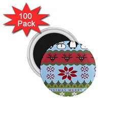 Ugly Christmas Xmas 1.75  Magnets (100 pack)