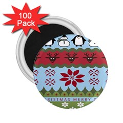 Ugly Christmas Xmas 2.25  Magnets (100 pack)
