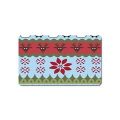 Ugly Christmas Xmas Magnet (name Card)