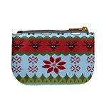 Ugly Christmas Xmas Mini Coin Purses Back