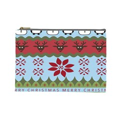 Ugly Christmas Xmas Cosmetic Bag (Large)