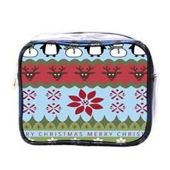 Ugly Christmas Xmas Mini Toiletries Bags