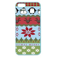 Ugly Christmas Xmas Apple Seamless Iphone 5 Case (color)