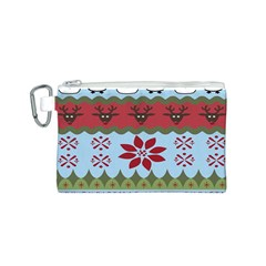 Ugly Christmas Xmas Canvas Cosmetic Bag (s)