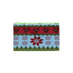 Ugly Christmas Xmas Cosmetic Bag (XS)