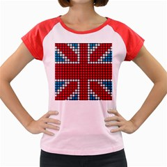 The Flag Of The Kingdom Of Great Britain Women s Cap Sleeve T-Shirt