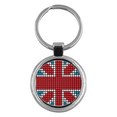 The Flag Of The Kingdom Of Great Britain Key Chains (Round)
