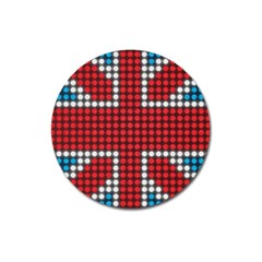 The Flag Of The Kingdom Of Great Britain Magnet 3  (Round)