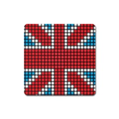 The Flag Of The Kingdom Of Great Britain Square Magnet
