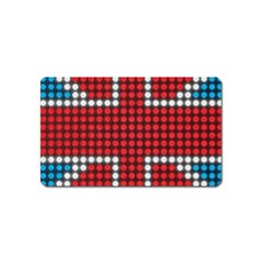 The Flag Of The Kingdom Of Great Britain Magnet (Name Card)