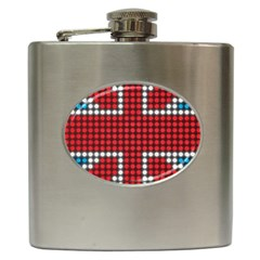 The Flag Of The Kingdom Of Great Britain Hip Flask (6 oz)