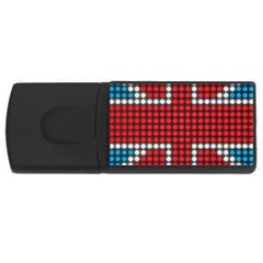 The Flag Of The Kingdom Of Great Britain USB Flash Drive Rectangular (2 GB)