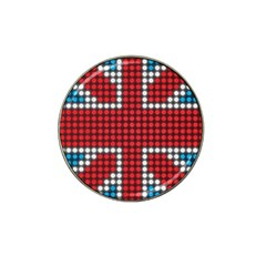 The Flag Of The Kingdom Of Great Britain Hat Clip Ball Marker