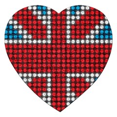 The Flag Of The Kingdom Of Great Britain Jigsaw Puzzle (Heart)