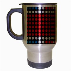The Flag Of The Kingdom Of Great Britain Travel Mug (Silver Gray)