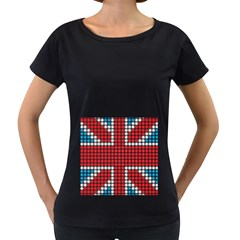 The Flag Of The Kingdom Of Great Britain Women s Loose Fit T Shirt (black)